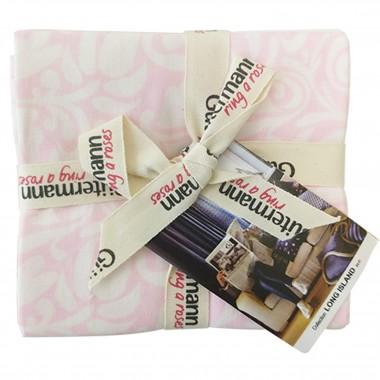 Paquete de 5 cortes de tela Gütermann Long Island tono rosa