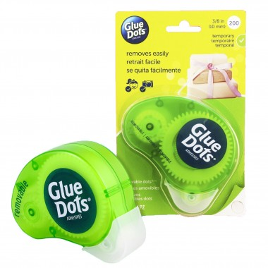 Dispensador de Gotas de Adhesivo Temporal Glue Dots
