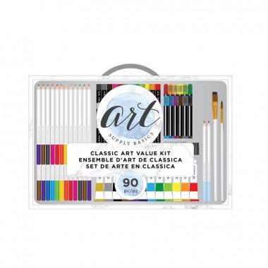 Kit De Arte Basico (90 Piezas)