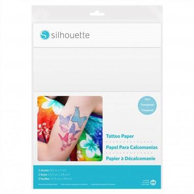 Papel para Tatuajes Imprimible Silhouette