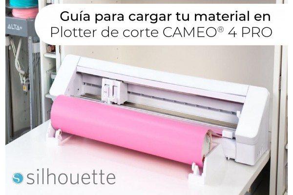 Guía para cargar material en su Cameo® 4 Pro