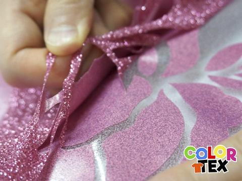 viniles termoadheribles glitter